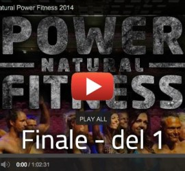 Finalen Natural Power FItness 2014